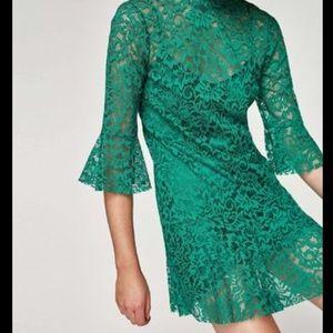 NWT ZARA lace dress